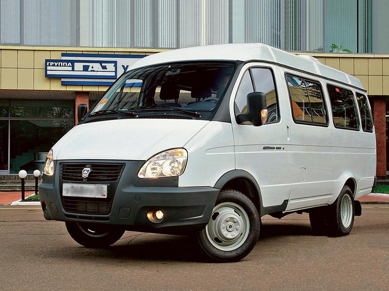 Автомобиль ГАЗель Бизнес 3221 автобус